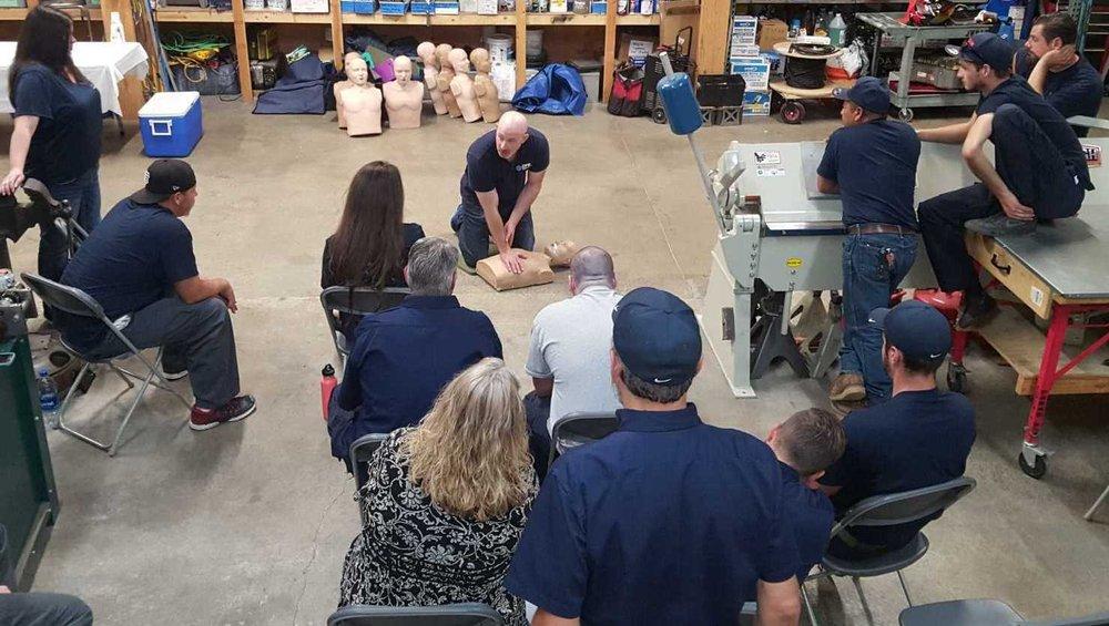 CPR Education: 1261 Locust St, Walnut Creek, CA