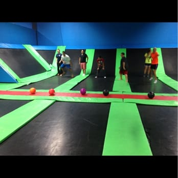 Bounce jr trampoline sports - The second city theater