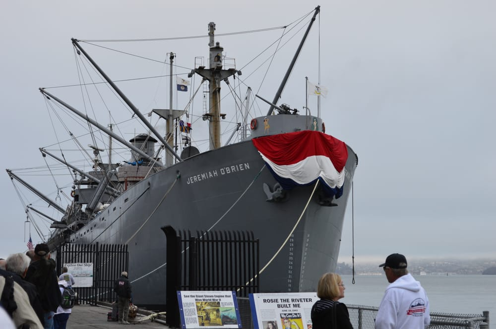 Ss jeremiah o brien 281 photos 113 reviews museums for Fishing store san francisco