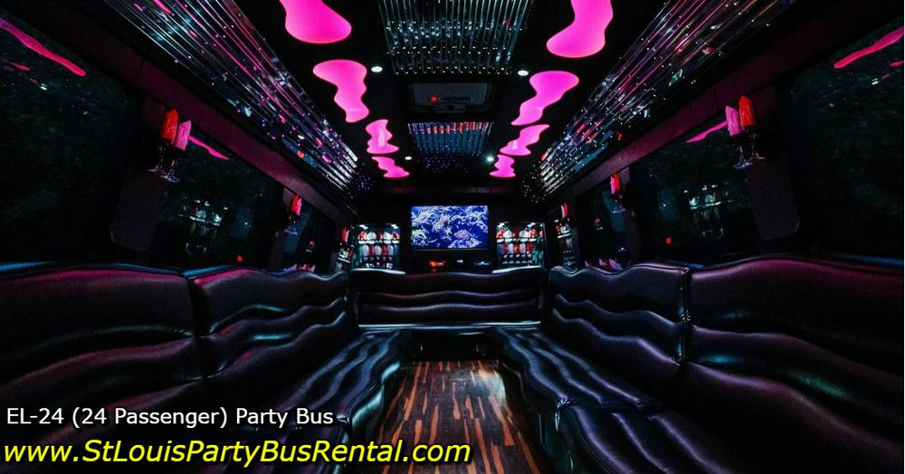 St Louis Party Bus Rental: 8816 Manchester Rd, Saint Louis, MO