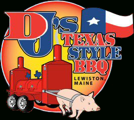 Food from DJ's Texas Style BBQ