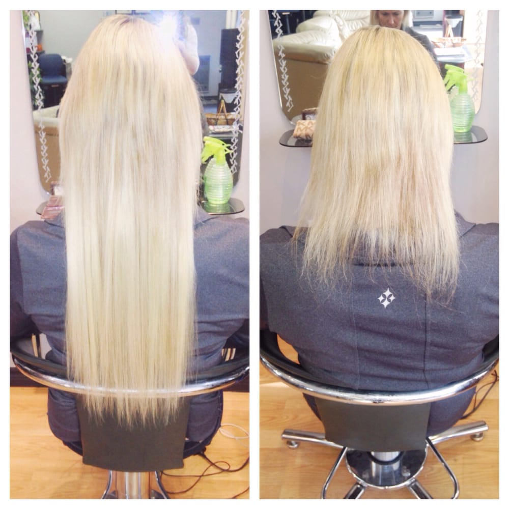 Hair extensions toronto before and after picture 18 inch blonde add photos photo of hair extensions toronto vaughan on canada hair extensions toronto pmusecretfo Choice Image