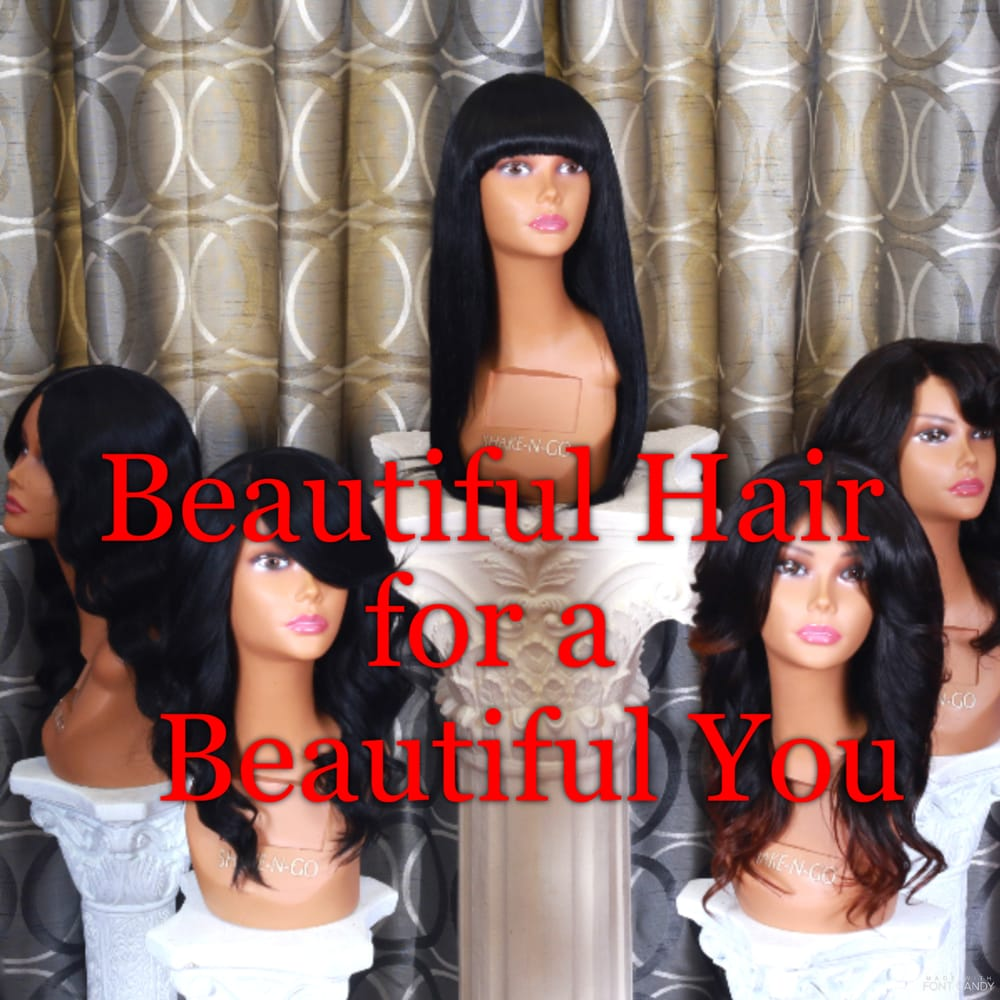 Custom Wigs By Hello Beautiful Wigs Hair Extensions Wigs Front