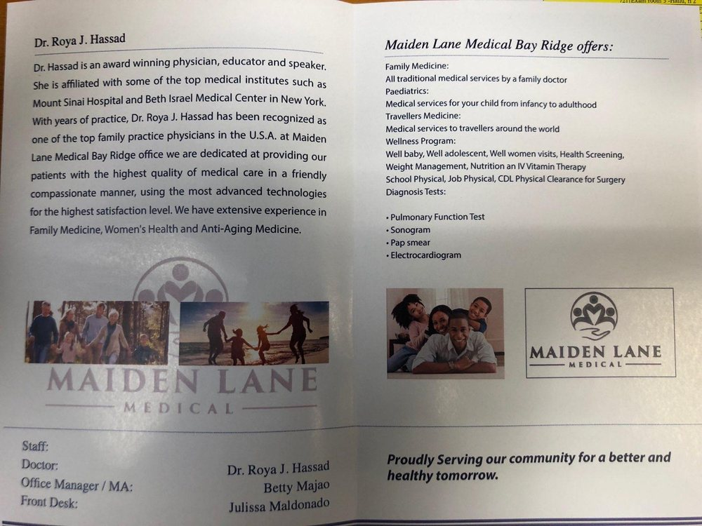 Maiden Lane Medical - Bay Ridge - 15 Photos - Obstetricians