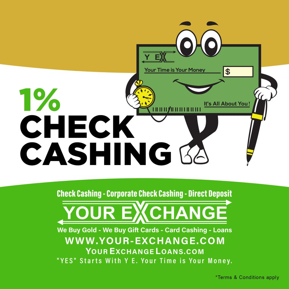 Your Exchange Check Cashing: 10553 University Ave NE, Blaine, MN