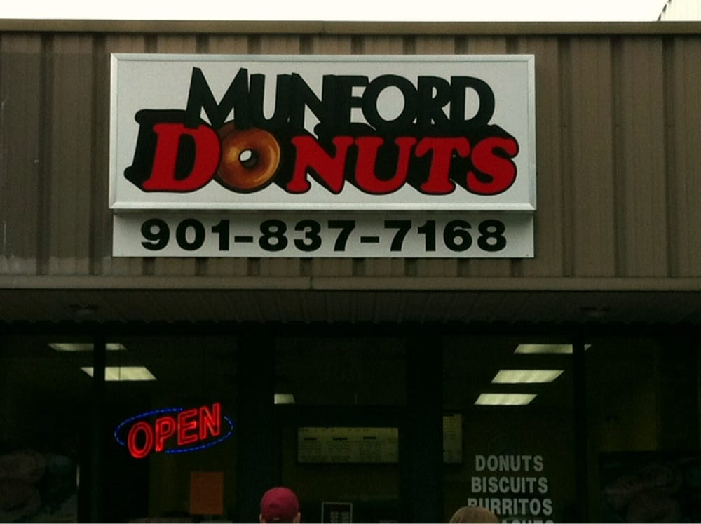 Munford Donuts: 456 Munford Ave, Munford, TN