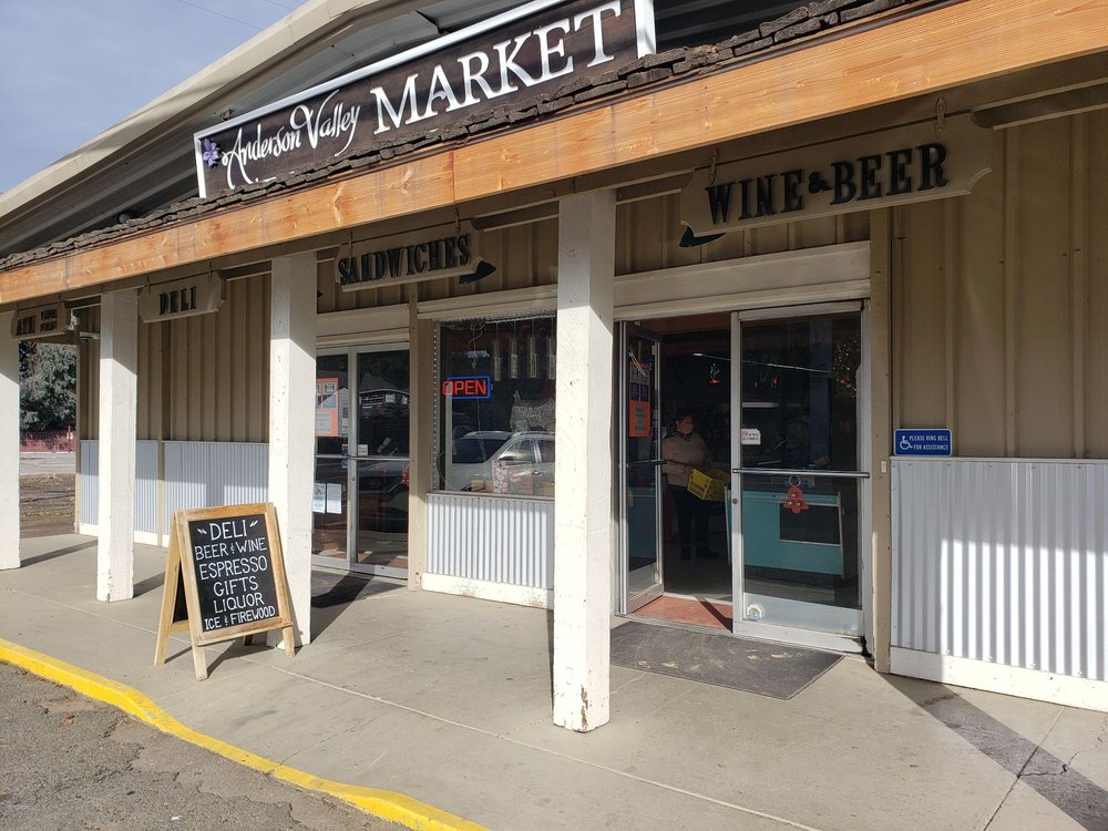 Anderson Valley Market & Deli: 14175 Hwy 128, Boonville, CA