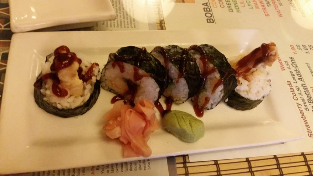 Tempura roll yelp for Aloha asian cuisine