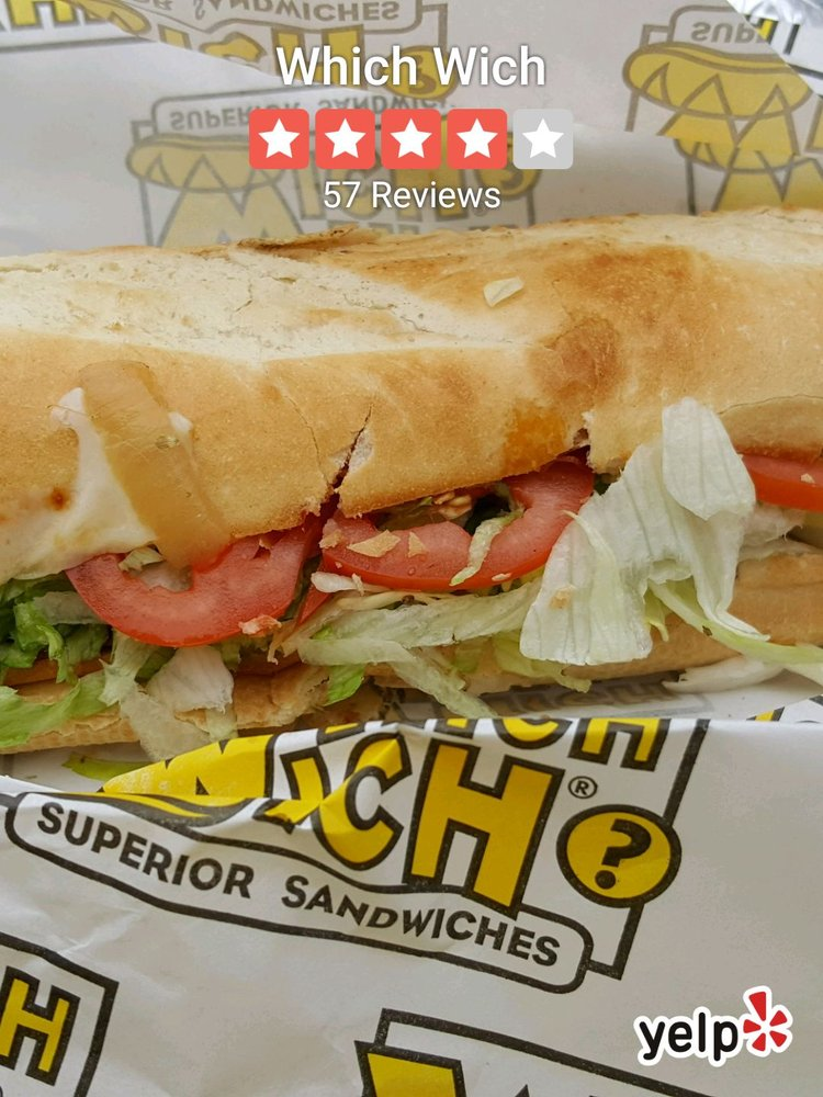 Food from Which Wich