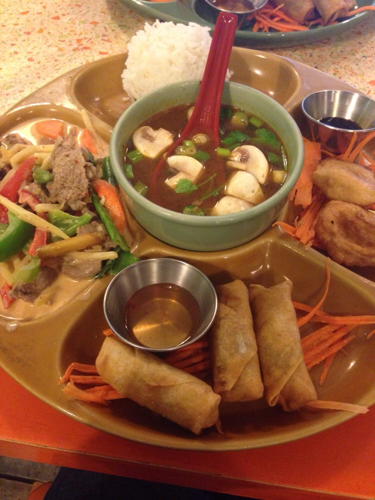Bua Thai Kitchen Menu