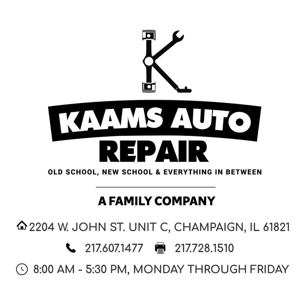 KAAMS Auto Repair: 2204 W John St, Champaign, IL