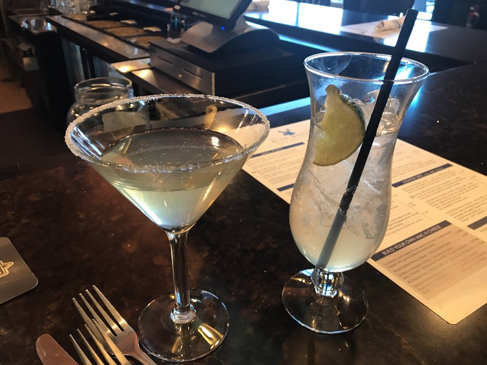Blueberry Martini & Vodka Limeade, half-price at the Blue Moose