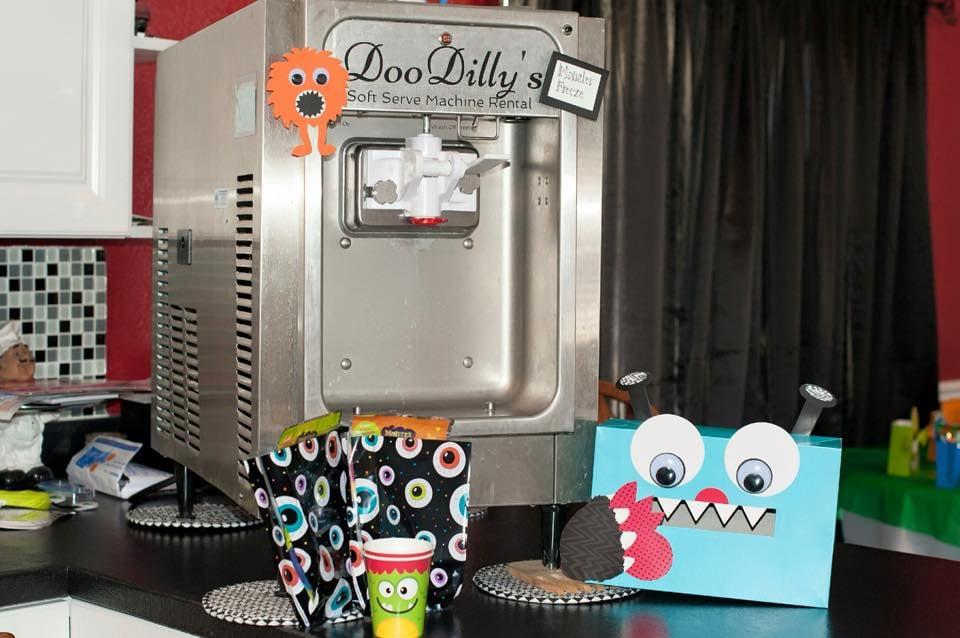 DooDilly's Soft Serve Ice Cream Machine Rental: 68 S Samara St, Vineyard, UT