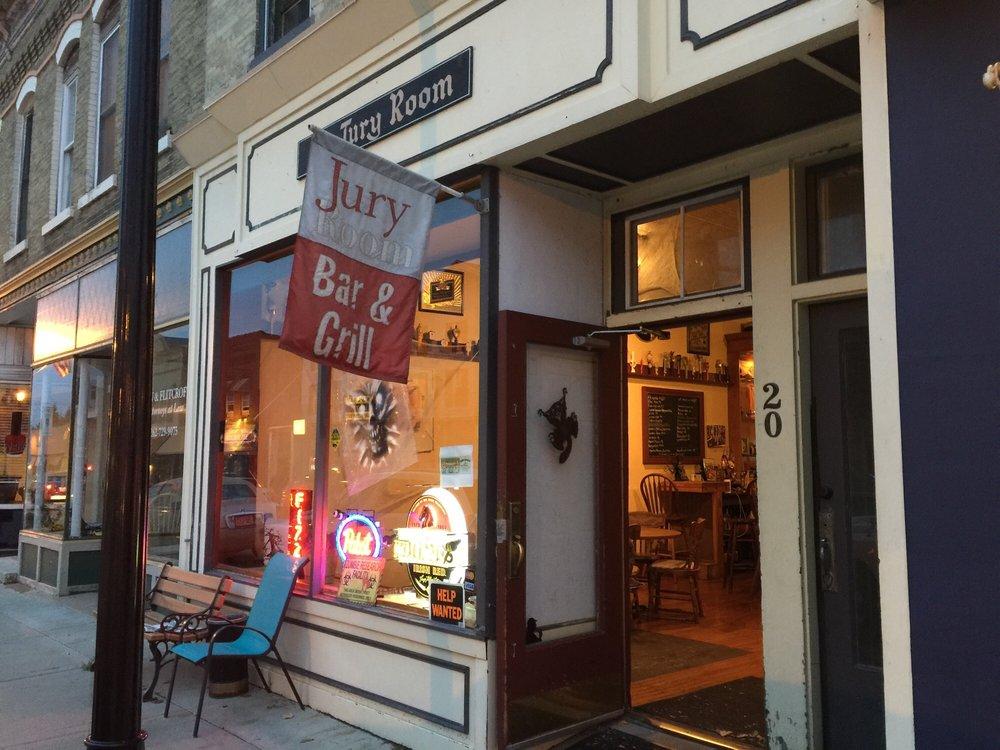 Jury Room Bar & Grill: 20 S Wisconsin St, Elkhorn, WI