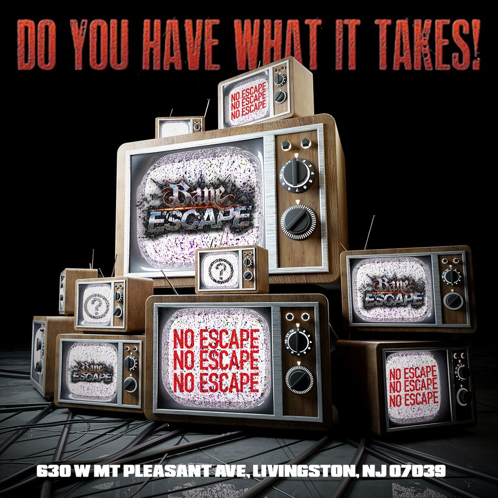 Bane Escape has 2 new escape rooms in Livingston NJ  Do you