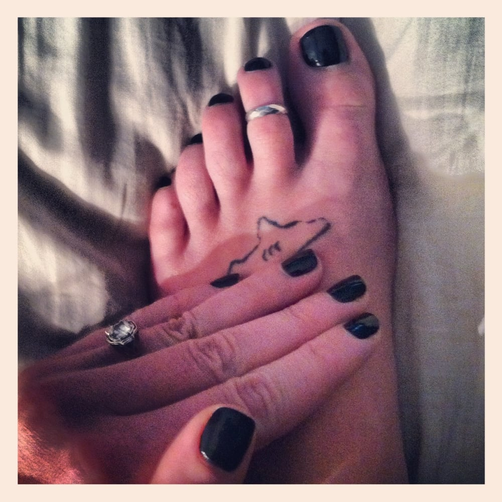 The best, dead on, mint BLACK mani/Pedi from UB Nails - Yelp