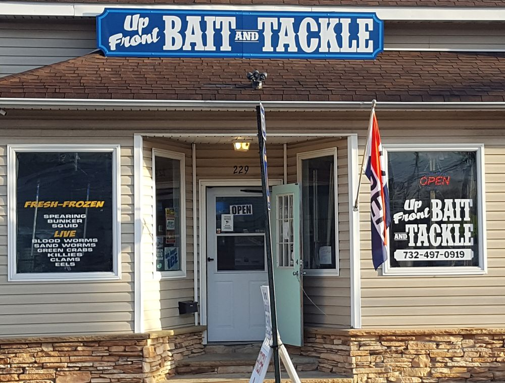 Up Front Bait And Tackle: 229 W Front St, Keyport, NJ
