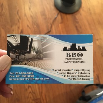 Photo of BBO Professional Carpet Cleaning - Houston, TX, United States. Benjamin's business