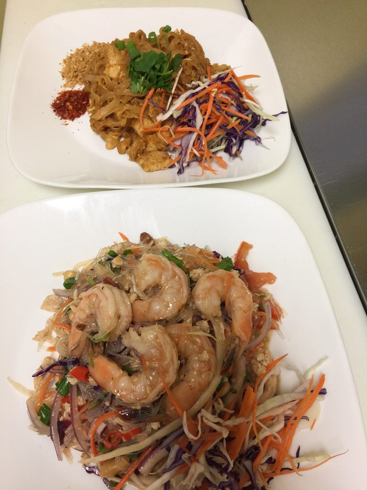 Food from Spicy Thai Cuisine