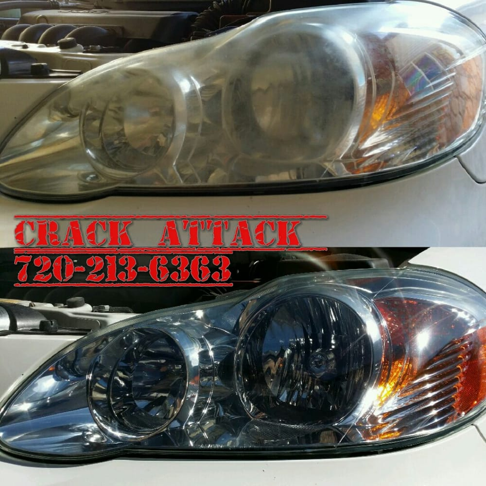 Highlands Ranch Locksmith: Headlight Restoration Toyota