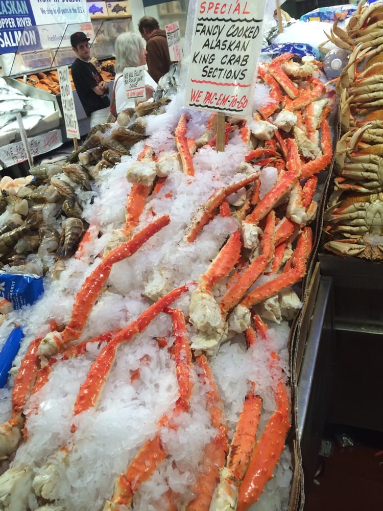 Checked a few seafood markets among which dis is the for Pure food fish market