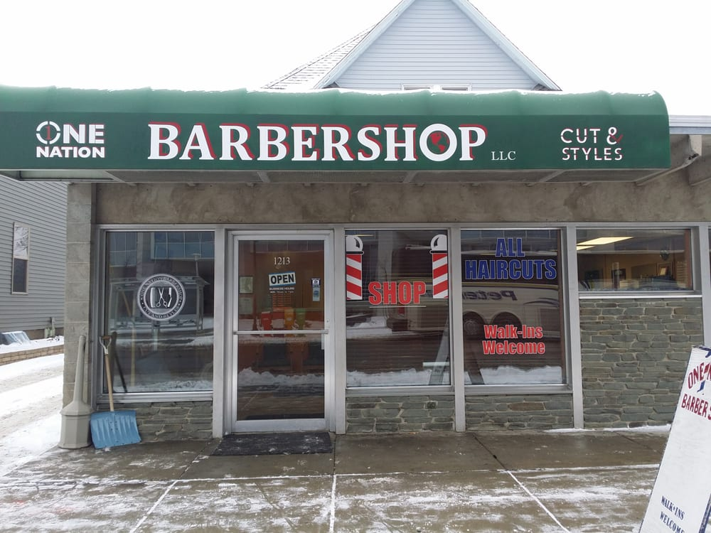 One Nation Barber Shop: 1213 W St Germain St, Saint Cloud, MN