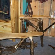 Aspen Log Photo Of Great Rustic Furniture Company Sevierville Tn United States