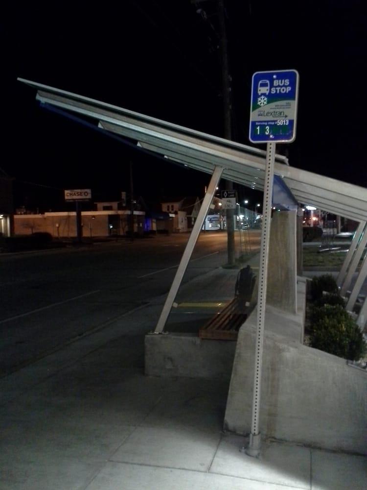 Lextran Bus Stop 5013: 704 E Euclid Ave, Lexington, KY