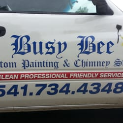 Photo Of Busy Bee Custom Painting Chimney Cleaning Medford Or United States