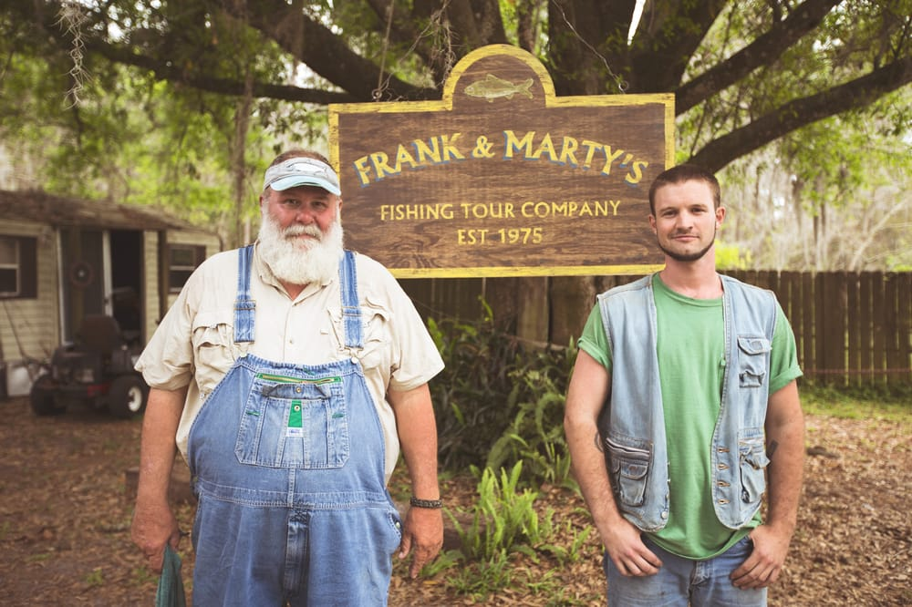 Frank and Marty Fishing: 548 Rock Ridge Rd, Green Pond, FL