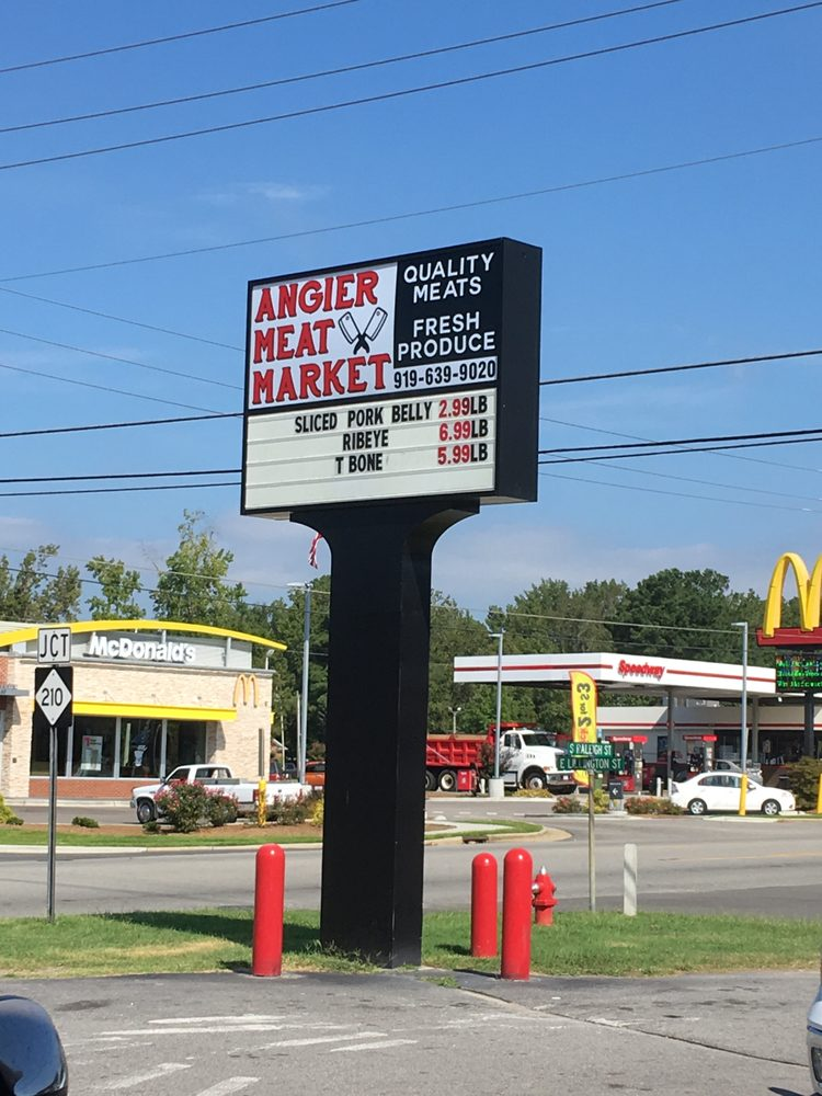 Angier Meat Market: 89 S Raleigh St, Angier, NC