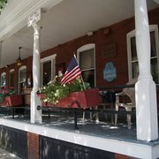 Photo Of The Naples Hotel Ny United States Sunny Porch