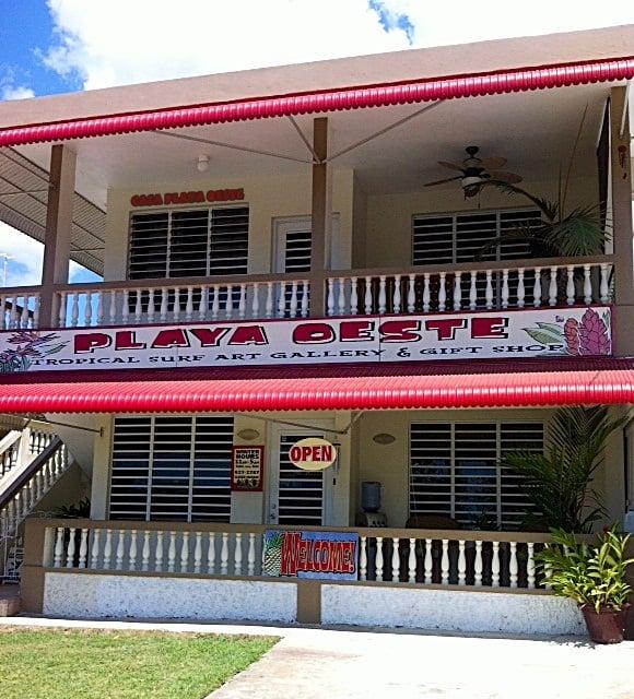 Playa Oeste Gallery & Gift Shop: Rincon, PR