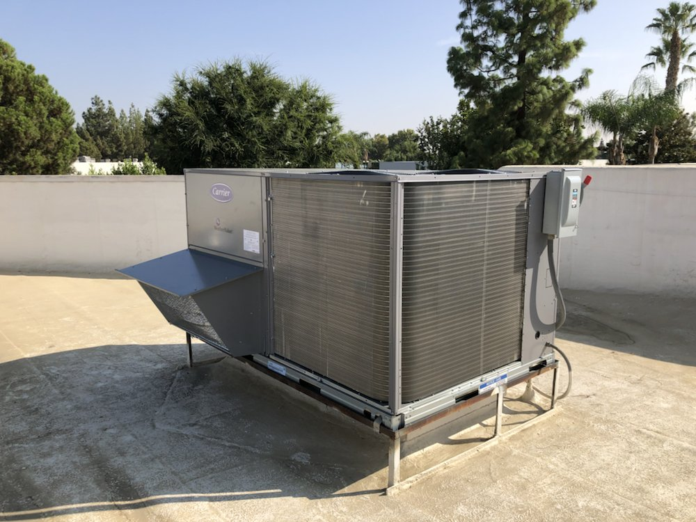 Commercial 10 ton carrier gas package unit - Yelp