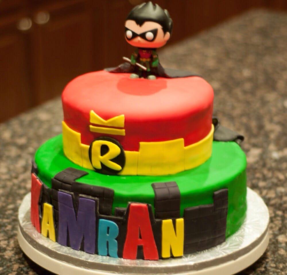 Teen Titans Robin Cake Yelp
