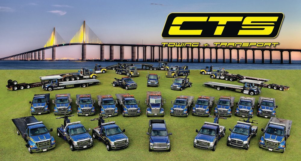 CTS Towing & Transport: 1955 Carroll St, Clearwater, FL