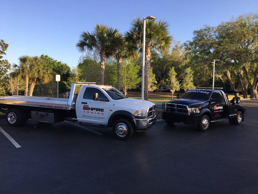 Towing business in Longwood, FL