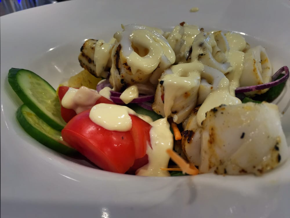 recipe: char grilled calamari salad [38]