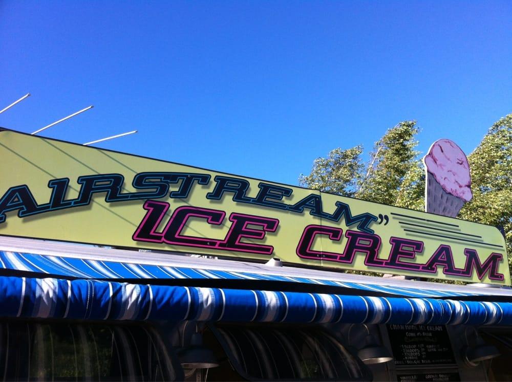 Airstream Ice Cream: State Hwy 104, New Hampton, NH