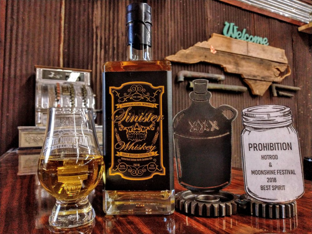 South Mountain Distilling Company: 1027 Malcolm Blvd, Rutherford College, NC