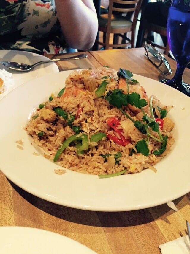 Spicy fried rice YUM Yelp