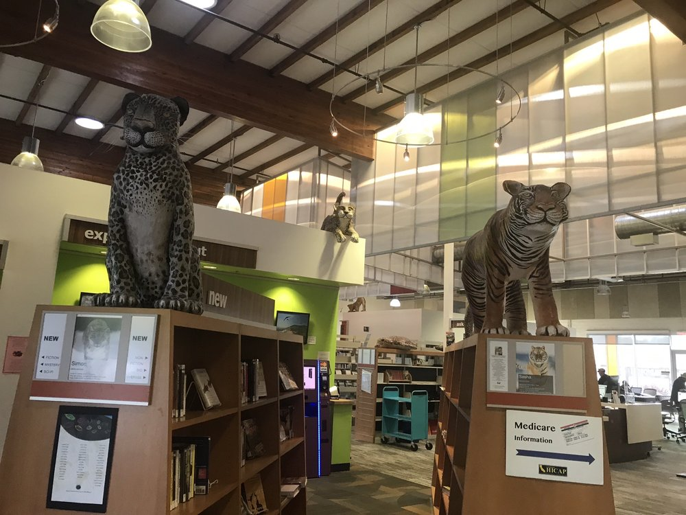 Scotts Valley Library: 251 Kings Village Rd, Scotts Valley, CA