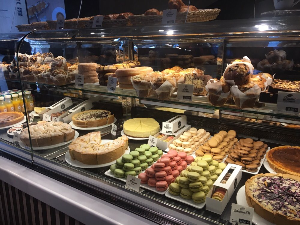 Baked goods at McDonald's paris