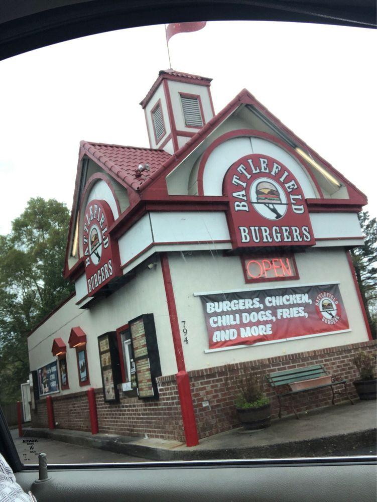 Battlefield Burger: 794 Battlefield Pkwy, Fort Oglethorpe, GA
