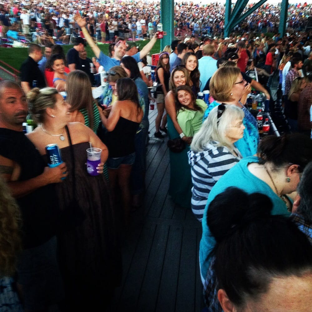 Party Deck At Dave Matthews Concert Yelp