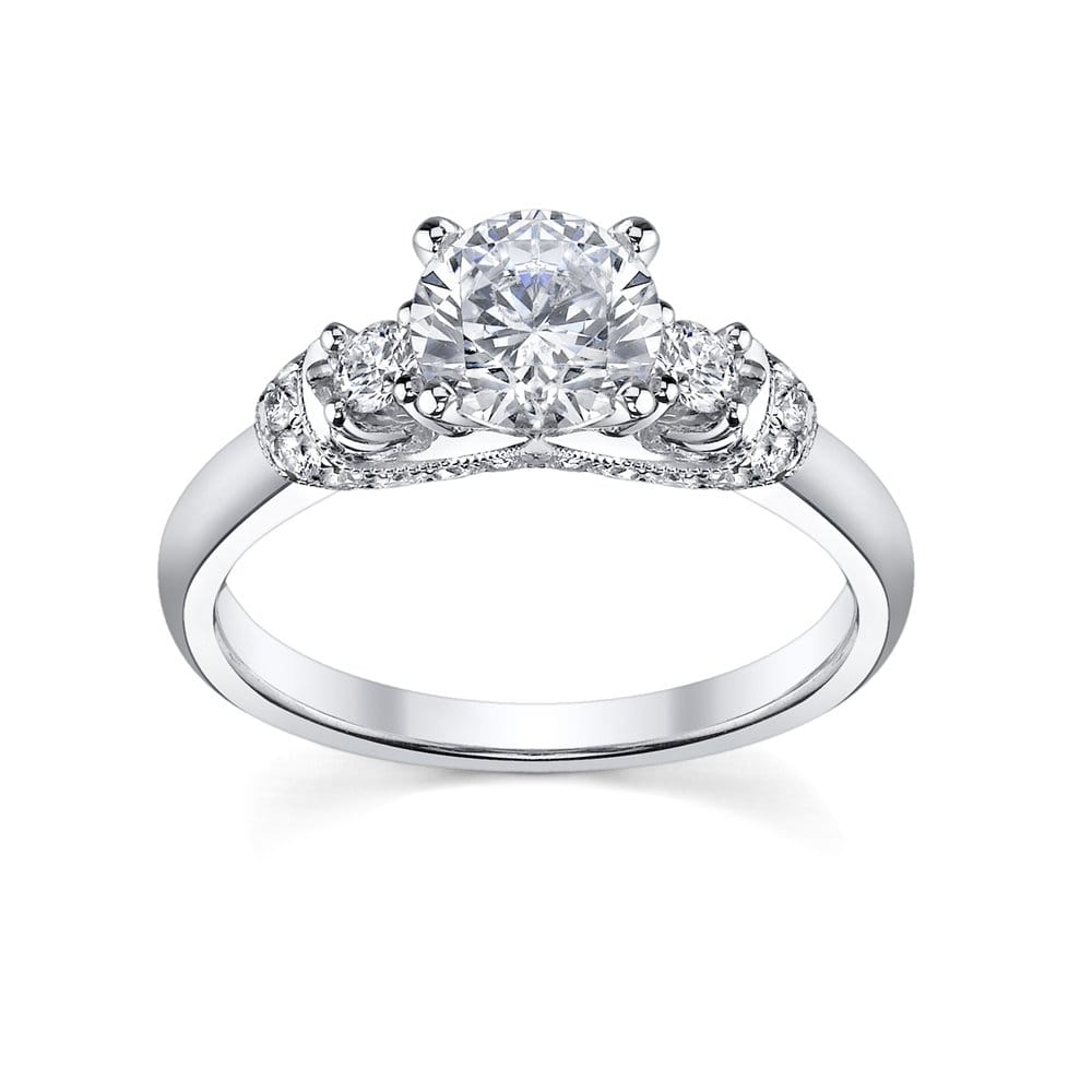 engagement ring from robbins brothers sku