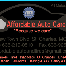 St Charles Automotive >> Affordable Automotive Care And Tires 3425 New Town Blvd