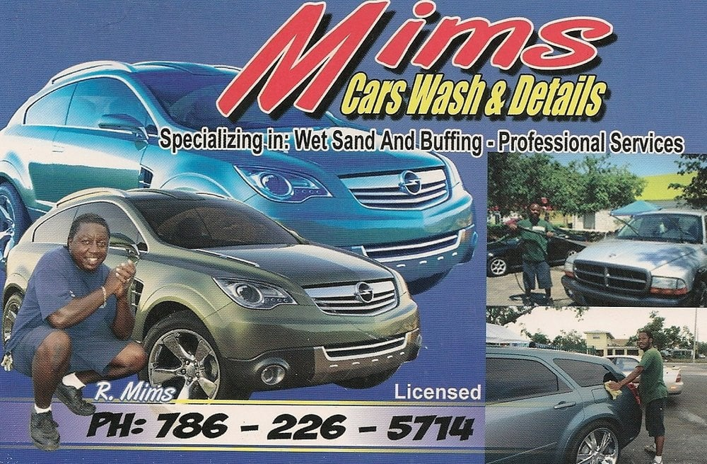 MIMS Mobile Detailing Services: 4100 NW A 27th Ave, Miami, FL