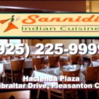 Photo Of Sannidi Indian Cuisine   Pleasanton, CA, United States