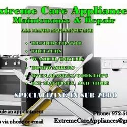 Extreme Care Appliance Repair Appliances Amp Repair